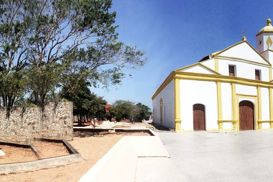 Recorriendo un Pueblo Nuevo en Paraguaná